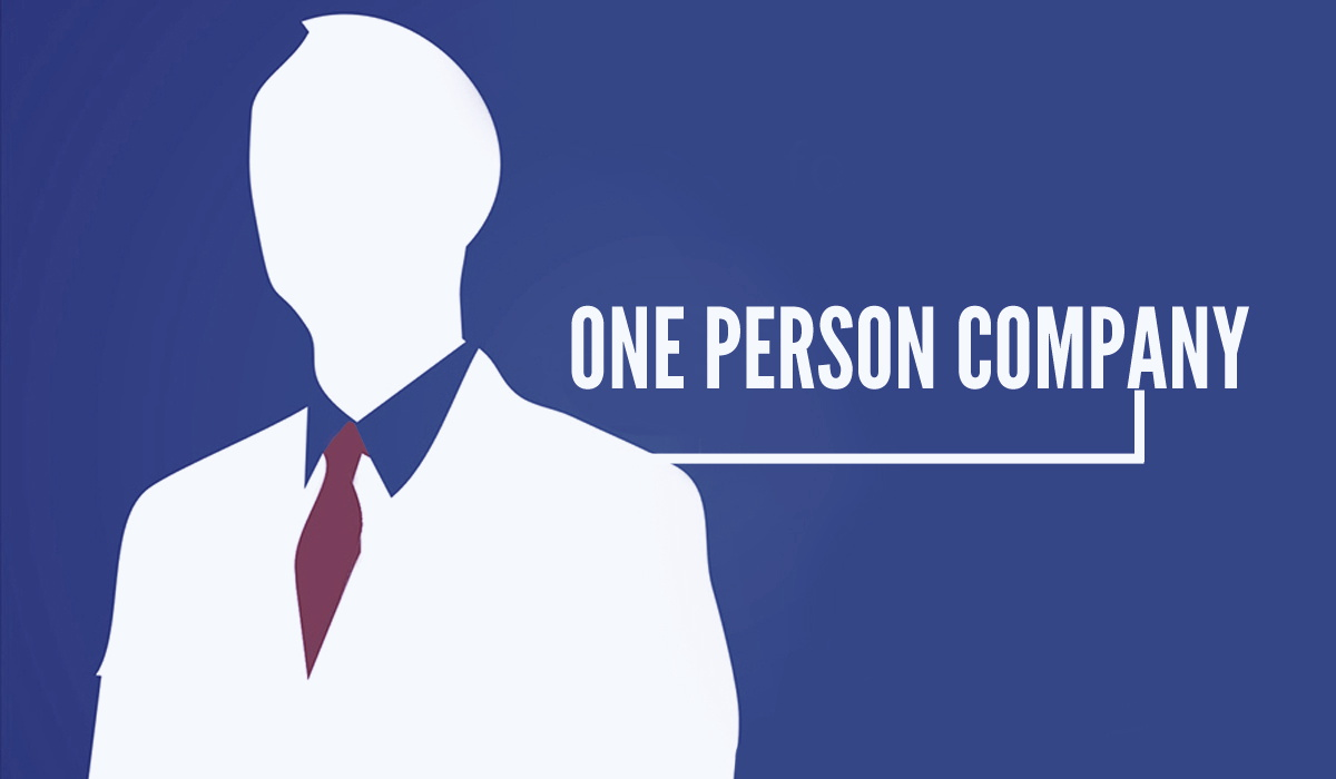 Concept of One Person Company