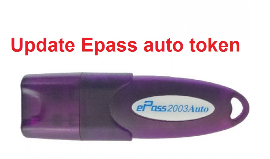 Update e-pass auto token 2003 to New token